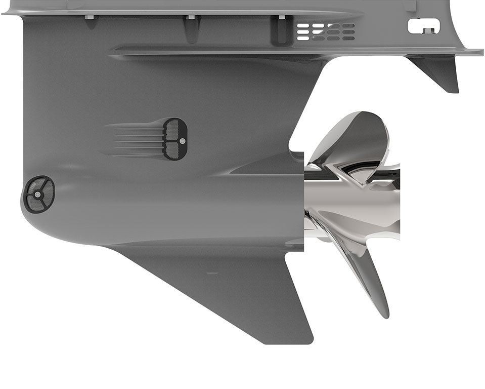 CXO300 Diesel Outboard Engine Leg