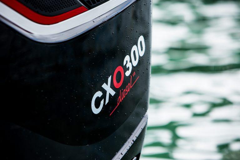 CXO 300 engine close up