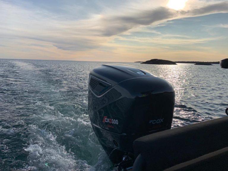 CXO300 demos at Genoa Boatshow